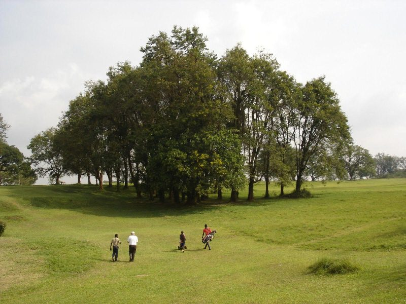 Golfing at the Source of the Nile River and Murchison Falls